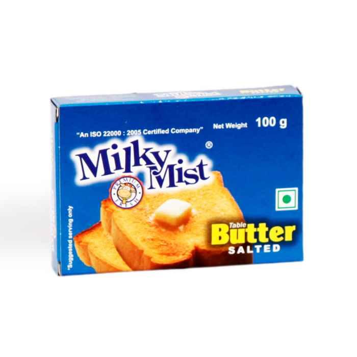 Milky Mist Salted Butter 100 Gm